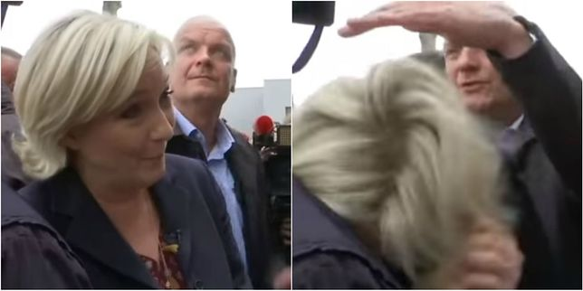 Marine Le Pen zaatakowana na wiecu w Bretanii