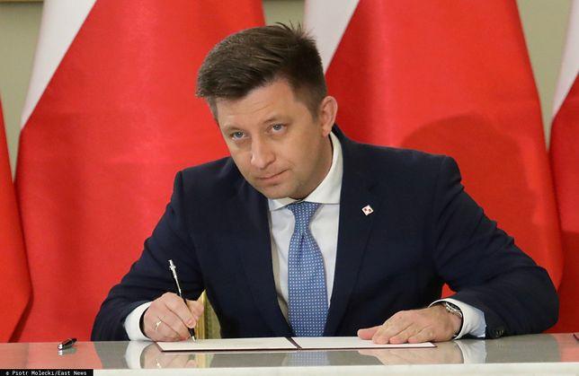 Szef KPRM Michał Dworczyk uważa, że sędziowie Sądu Najwyższego załamali konstytucję w kilku punktach