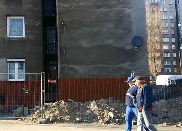 Udało się wyprostować blok. Czas naprawiać kolejne pokopalniane szkody w Katowicach