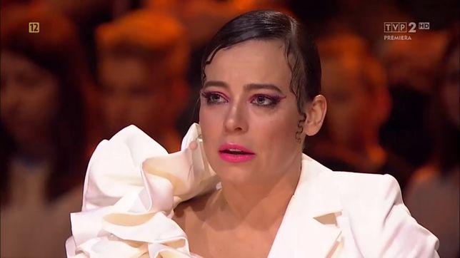 """Anna Mucha płakała w """"Dance Dance Dance"""""""