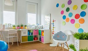 Kolorowe komody, pudełka i półki pomogą zapanować nad wszystkimi drobiazgami