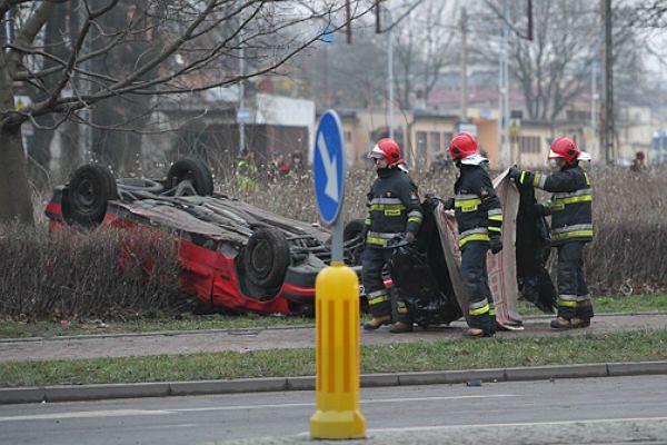 Miejsce tragicznego wypadku w Kamieniu Pomorskim