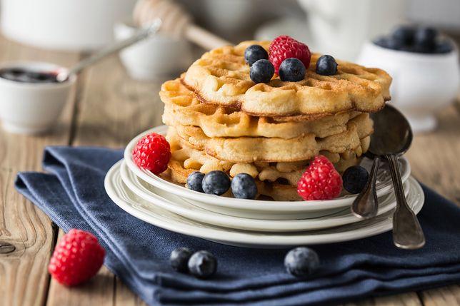 Smakowite gofry to doskonały pomysł na śniadanie