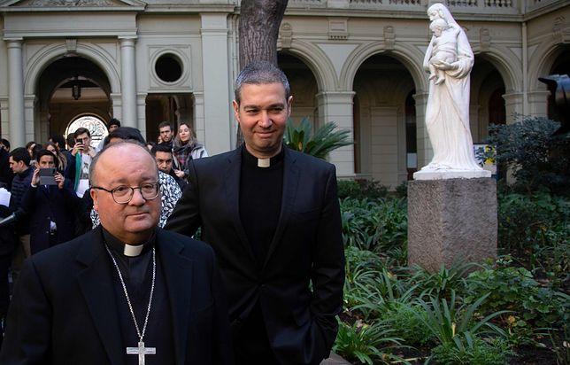 Pedofilia w kościele jest powodem wysłania specjalnych reprezentantów papieża Franciszka do Chile