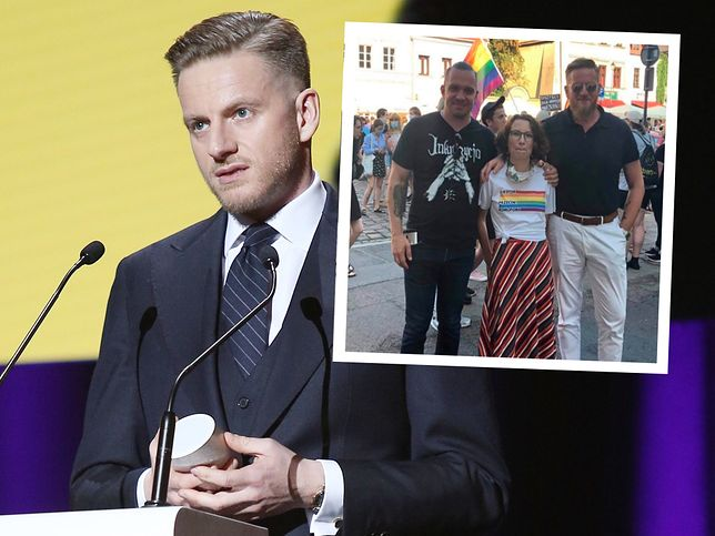 Szczepan Twardoch manifestował w Krakowie