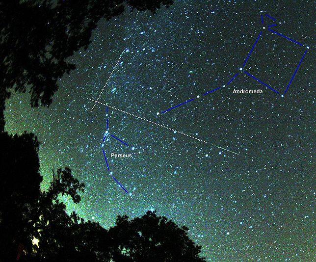 Spójrz na warszawskie niebo, zobaczysz meteory z roju Perseidy