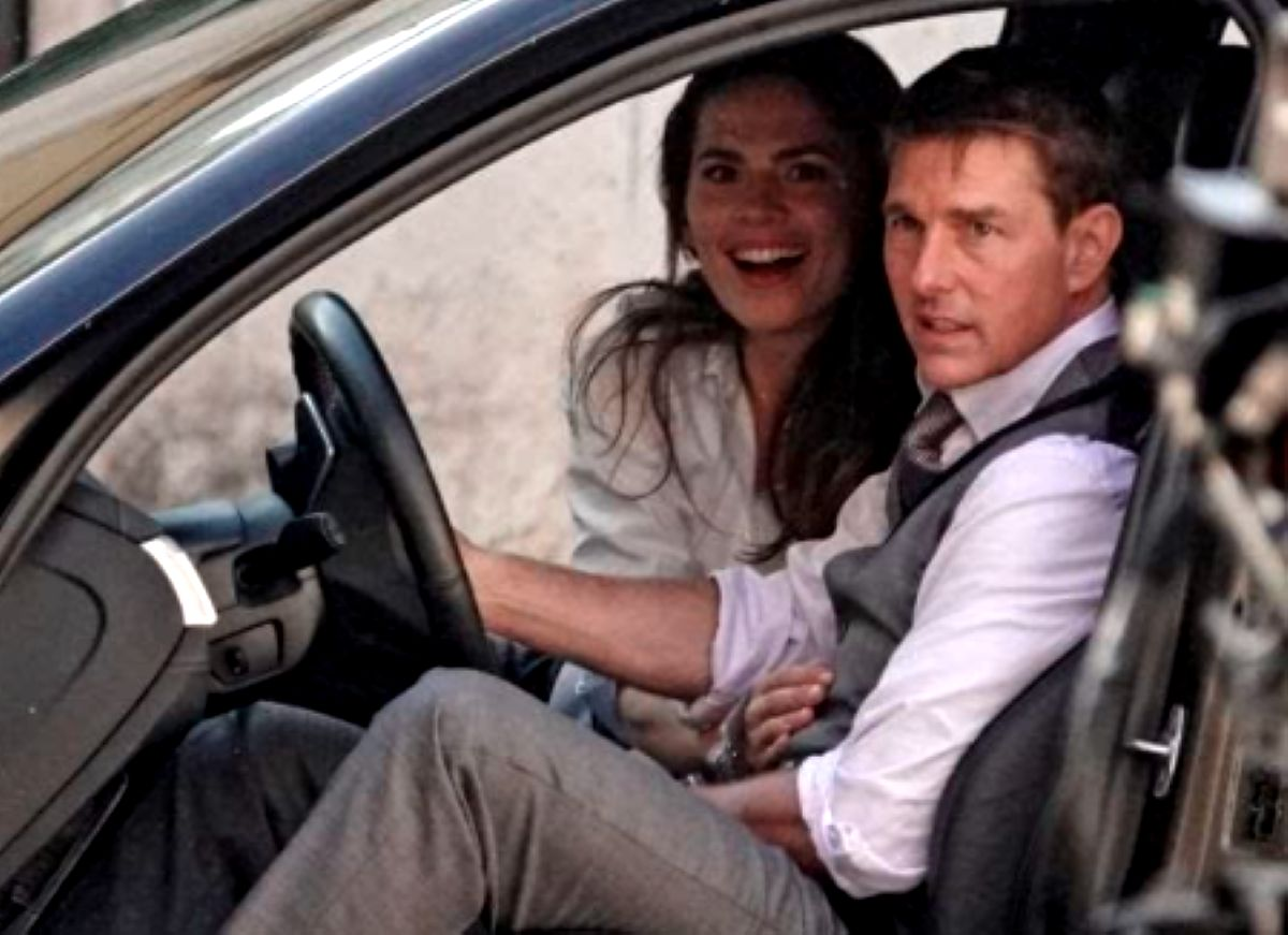 """Tom Cruise na planie """"Mission: Impossible 7"""""""