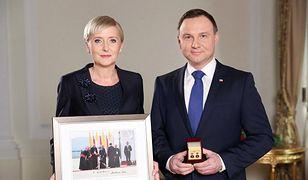 Para prezydencka wspiera WOŚP. Podarowała zabawne zdjęcie