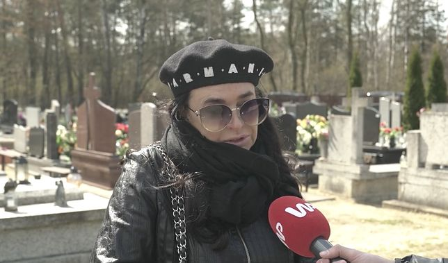 """Ewa Krawczyk: """"Mój mąż tam w górze płacze"""""""