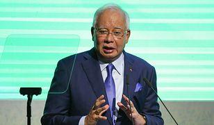 Były premier Najib Razak aresztowany ws. korupcji