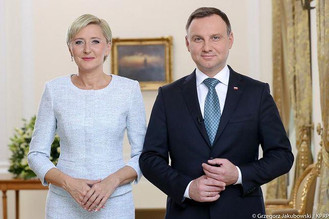 Prezydent wraz z małżonką złożyli życzenia babciom i dziadkom