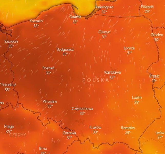 W najbliższych dniach może paść rekord temperatury w Polsce