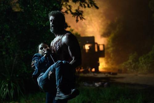 Hugh Jackman i Dafne Keen fot. Marvel