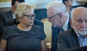 Małgorzata Gersdorf nie zobaczy projektów ustaw o SN i KRS