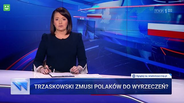 """Rafał Trzaskowski zdaniem """"Wiadomości"""" stanowi zagrożenie dla zwykłych Polaków"""