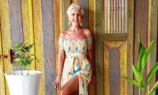 Sheila Kiss ma figurę prawdziwej modelki.