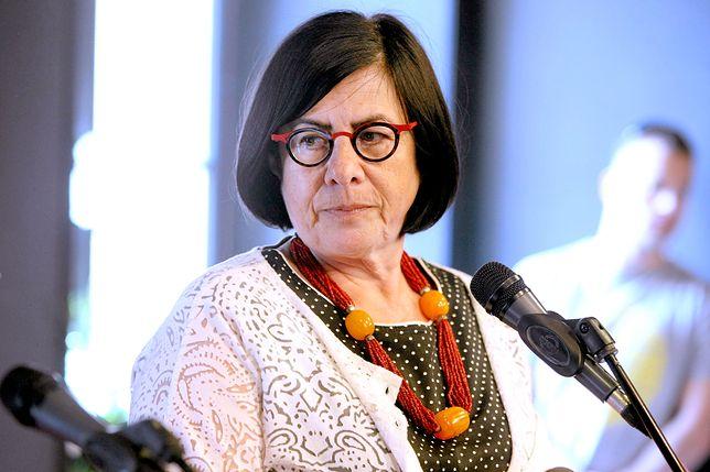 Ambasador Izraela w Polsce Anna Azari była obecna na uroczystości w Gdańsku