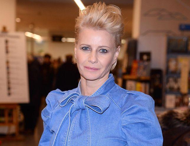 Małgorzata Kożuchowska jest oburzona górą śmieci nad Wisłą