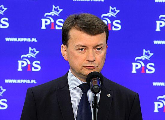 """Błaszczak: w PiS nie panuje """"Tuskokracja"""""""