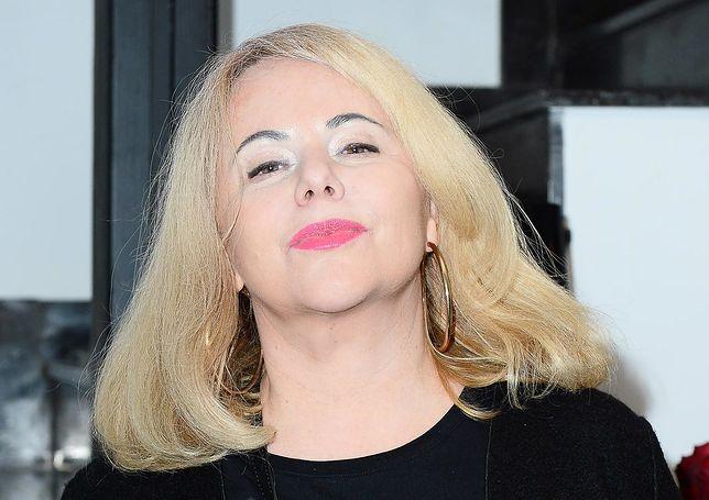 Joanna Kurowska na jednej z imprez branżowych