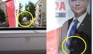 Leszno. Atak na biuro poselskie Jana Mosińskiego z PiS. Ostrzelano plakat z Andrzejem Dudą