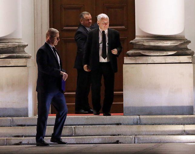W piątek w Belwederze prezes Prawa i Sprawiedliwości Jarosław Kaczyński spotkał się z prezydentem Andrzejem Duda