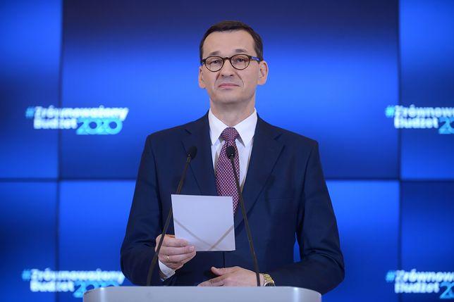 Premier Mateusz Morawiecki: proponuję w czasie świątecznym spuścić nieco powietrza z tego balonu