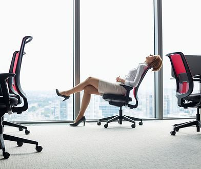 Odpowiedni fotel biurowy powinien być dostosowany do wzrostu