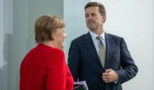 """Niemcy. Afera szpiegowska w gabinecie Angeli Merkel. """"Obce służby"""""""