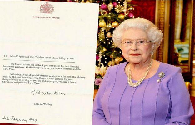"""""""Niezwykła radość na lekcji"""". Królowa Elżbieta odpisała polskim uczniom"""
