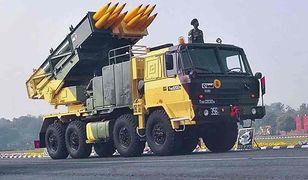 Artyleryjski system rakietowy Pinaka
