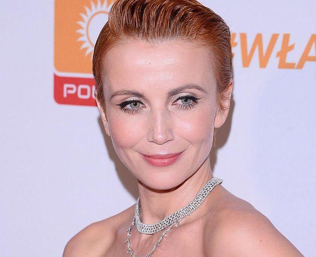Katarzyna Zielińska odsłoniła ciało.