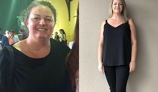 Leesa Collins w ciągu 20 tygodni zrzuciła 20 kilogramów.