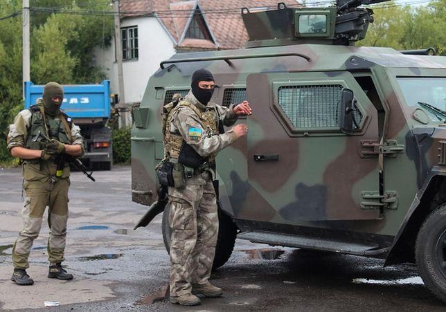 Ukraińskie wojsko w Mukaczewie
