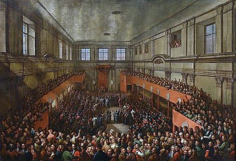 Sejm Wielki (Czteroletni) uchwalił na obradach Konstytucję 3 Maja