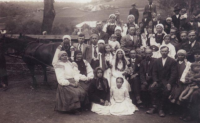Wesele w Korościatynie - jesień 1932 r.