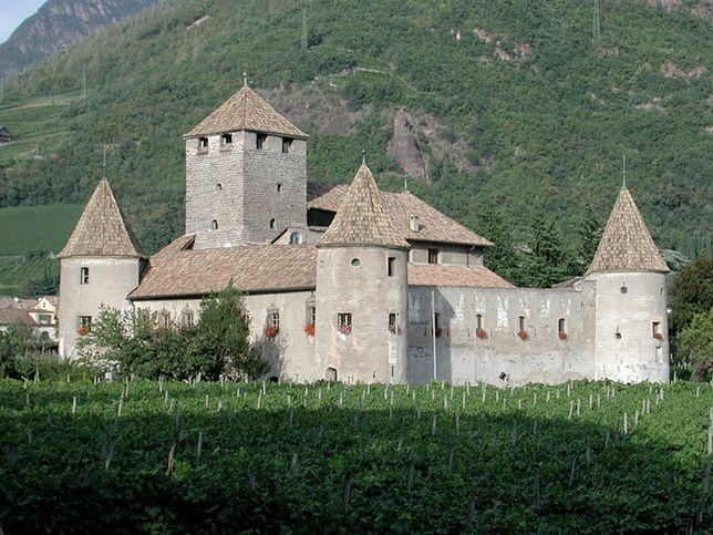 Zamek Mareccio w Bolzano to budowla z XIII wieku
