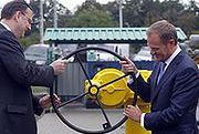 Premierzy Polski i Czech otworzyli połączenie gazowe między oboma krajami