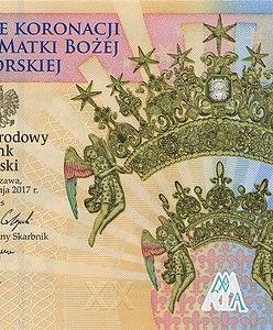 NBP wypuszcza nowy banknot. Z okazji koronacji obrazu Matki Boskiej