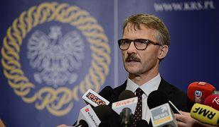 Przewodniczący KRS, Leszek Mazur.