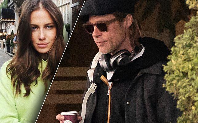 Brad Pitt i jego nowa dziewczyna Nicole Poturalski