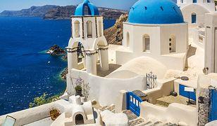 Wyspa Santorini. Reporter pokazał ciemniejszą stronę Grecji
