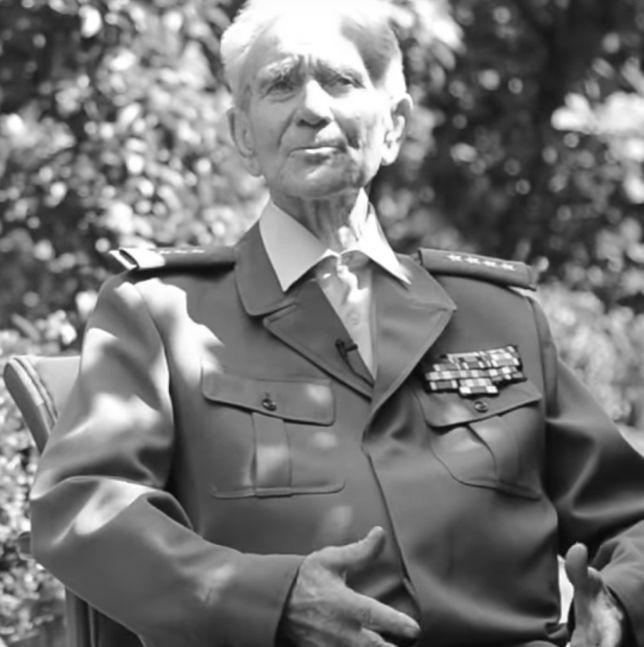 Nie żyje mjr Bronisław Karwowski. Zdążył poprowadzić wnuczkę do ślubu