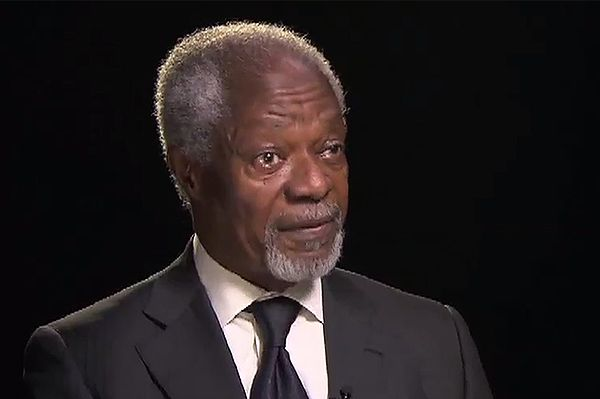 Kofi Annan: epidemia eboli to efekt lekceważenia i zaniedbania Afryki przez świat