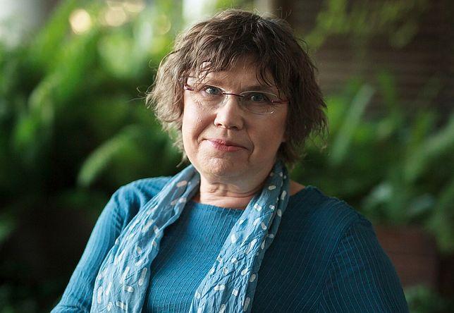 Barbara Engelking podczas spotkania autorskiego w 2018 roku