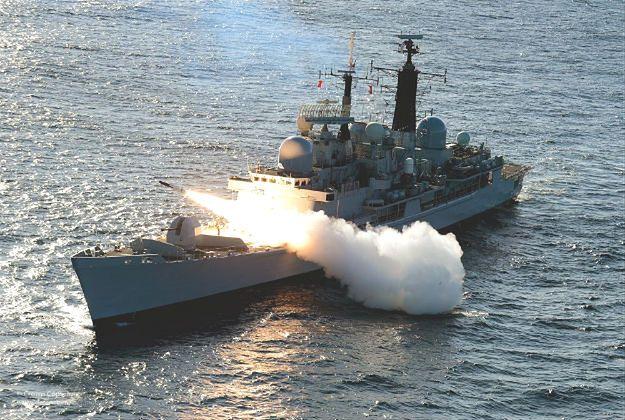 Niszczyciel Royal Navy HMS Edinburgh