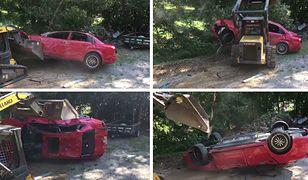 Georgia: zniszczył córce auto warte 40 tys. złotych, bo wygłupiała się w nim z chłopakiem
