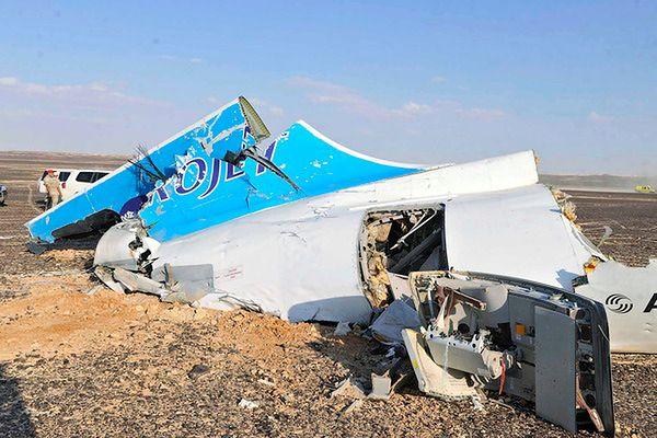 Grupa Prowincja Synaj popierająca IS winna katastrofy samolotu w Egipcie