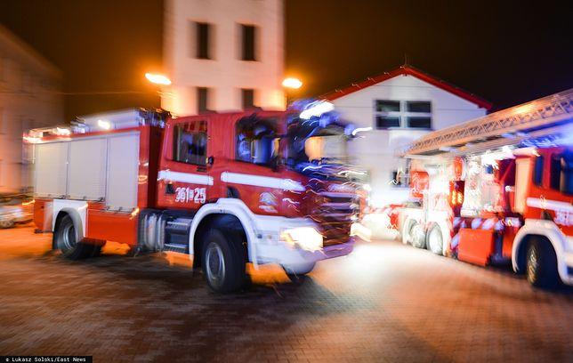 Śrem. Strażacy znaleźli zwęglone ciało