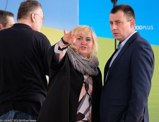 Anna Plakwicz i Piotr Matczuk to obecnie urzędnicy KPRM, wcześniej prowadzili spółkę Solvere